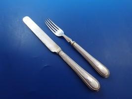 6 Silverplate Breakfast Knives and 6 Breakfast Forks  (#3417) - $119.00