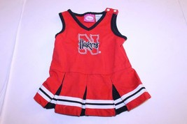 Infant/Baby Girls Nebraska Cornhuskers 12 Months Cheerleader Cheer Outfi... - $18.69