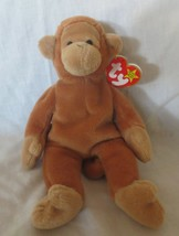 Ty Beanie Baby Bongo 1995 4th Gen Hang Tag/3rd Gen Tush Tag No Star  PVC... - $19.79