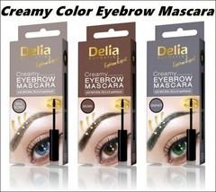 Best Product Delia EYEBROW Color Cream MASCARA Beige Blonde, Brown Graph... - $7.99