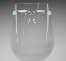 Face Safety Shield with Glasses Clear Anti Fog Bulk Protective Covers (6 Pack) image 2