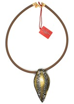 Necklace Antica Murrina Venezia,CO141A15,Stripes,Feather Pendant,Murano image 2