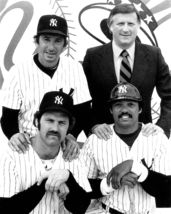 New York Yankees Martin Munson Vintage 11X14 BW Baseball Memorabilia Photo - $14.95