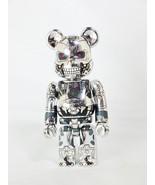 Medicom Toy Be@rbrick BEARBRICK 100% Series 32 SF TERMINATOR Genisys T-800 Bl... - $34.19