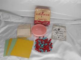 Old Vtg 1957 GOOMICUS ALPHABET SOUP WORD GAME - $19.79