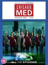 Chicago Med Complete Series Season 1-5 DVD Boxset *REGION 2 PLEASE READ ... - $67.95