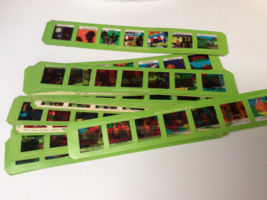 1972 VINTAGE KENNER GIVE A SHOW TOY PROJECTOR Color SLIDE STRIPS VARIOUS... - $19.99