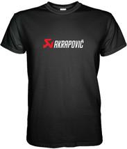 Akrapovic Exhaust Logo T-Shirt Size S M L XL 2XL 3XL - $15.80+