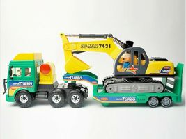 Daesung Toys Melody Shovel Trailer Truck Forklift Car Vehicle Construction Toy image 3