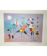 """JONATHAN WINTERS """"THE UMBRELLA DANCERS"""" Signed Limited Ed Lithograph 197... - $4,195.00"""