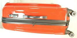 "Traveler's Choice 29"" Sedona new spinner red polycarbonate shell combo lock image 4"