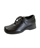 24 HOUR COMFORT Caprice Wide Width Leather Lace-Up Shoes - $49.95