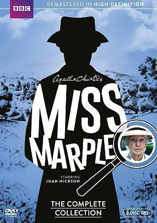 Primary image for Agatha Christie's Miss Marple: The Complete Collection (DVD 2015 9-Disc Set New)