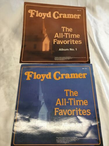 Floyd Cramer The All-Time Favorites Album No. 1 And No.2 Vinyl Record