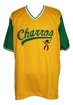 Kenny Powers #55 Charros Eastbound And Down Tv Baseball Jersey Yellow Any Size image 1