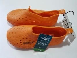 Speedo Toddler Boys Jelly Slip-On Water Shoes - Orange - NWT - $13.99