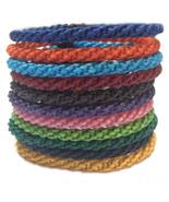 "The ""Twist"" Waxed Braid Weave Cord Thai Cotton Wristband Wristwear - $6.49"