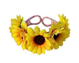 1 Pair Of Luscious Yellow Daisy Beach Bracelets Lace Bracelets Jewelry