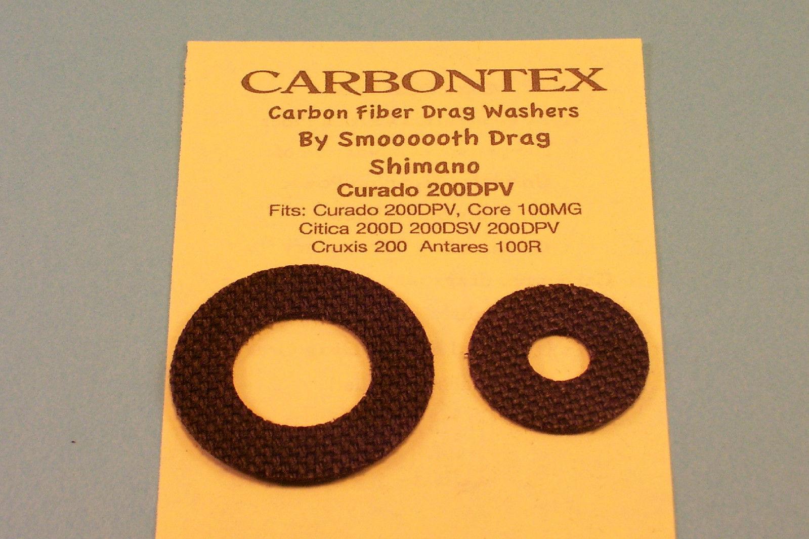 1 Set Carbontex Drag Washers Shimano Triton 100G 100GT 200GT 200G