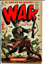 War #38 1955-Atlas-Joe Kubert-Capt Kirk of the Infantry-G - $47.92