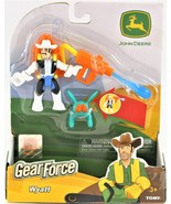 Gear Force Wyatt & Bug Set Tomy John Deere 3 And Up New Free Shipping - $12.86