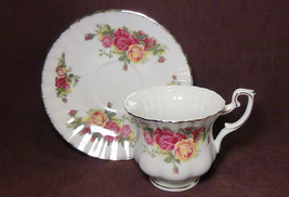 12 pcs THUN  KARLOVARSKY Country Rose Fine Porcelain China Tea Set - $79.15