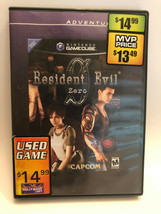 Resident Evil 0 (GameCube, 2002) 2 Disc Set - $11.87