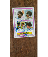 1980 TOPPS VIKINGS LEADERS CARD DUAL SIGNED AUTO MARK MULLANEY TOM HANNO... - $14.99