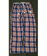Reebok NY Giants Plaid Pajama Pants M Team Apparel Drawstring Elastic Wa... - $14.84