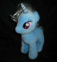 Construction bear my little pony trixie lulamoon unicorn blue plush animal - $37.05