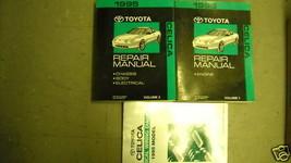 1995 Toyota Celica Servizio Riparazione Negozio Manuale Set OEM W Cavi D... - $74.23