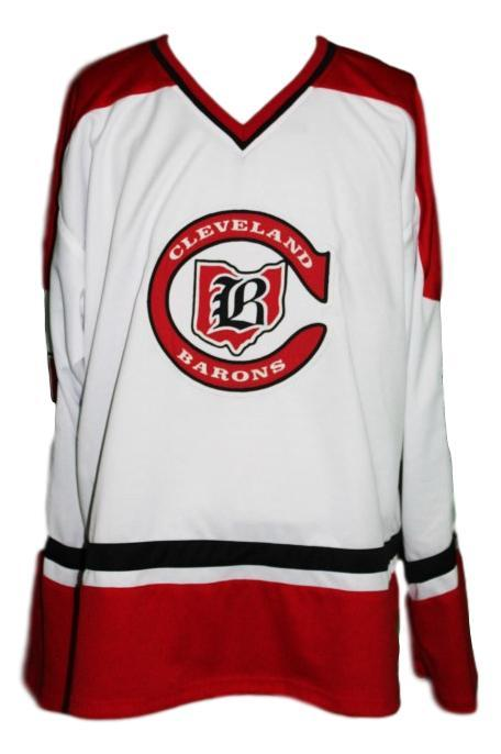 Maruk  21 custom cleveland barons retro jersey white   1