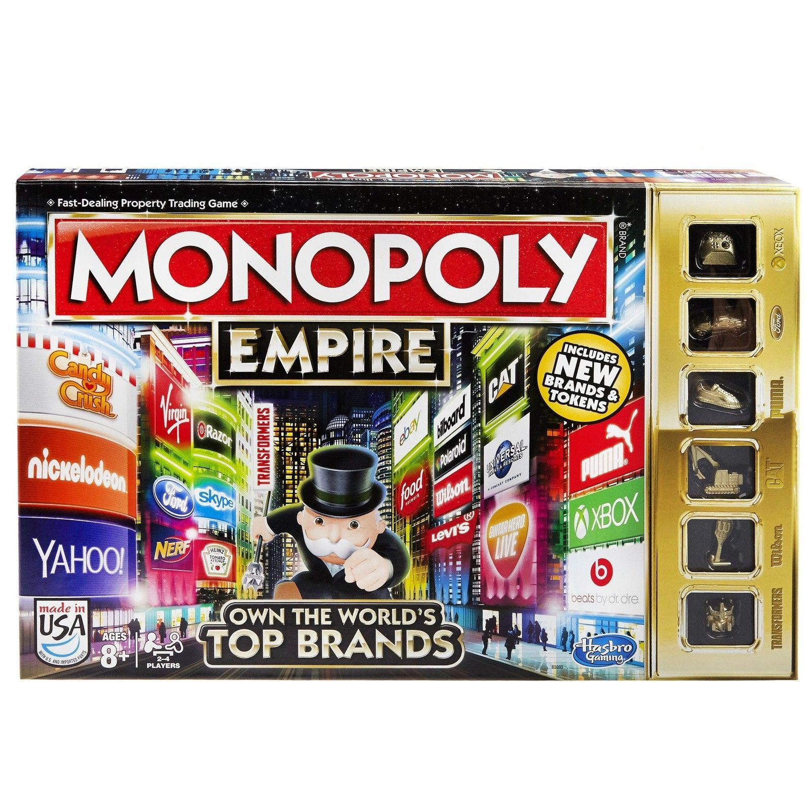 Monopoly Empire Board Game NEW Family Fun