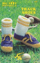 Track Shoes, Annie's Attic Big Foot Boutique II Crochet Pattern Booklet ... - $3.95