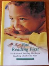 Put Reading First: The Research Building Blocks for Teaching Children to Read K-