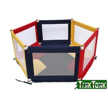 TIKK TOKK POKANO Fabric Playpen - Hexaganol - Colourful - $181.87