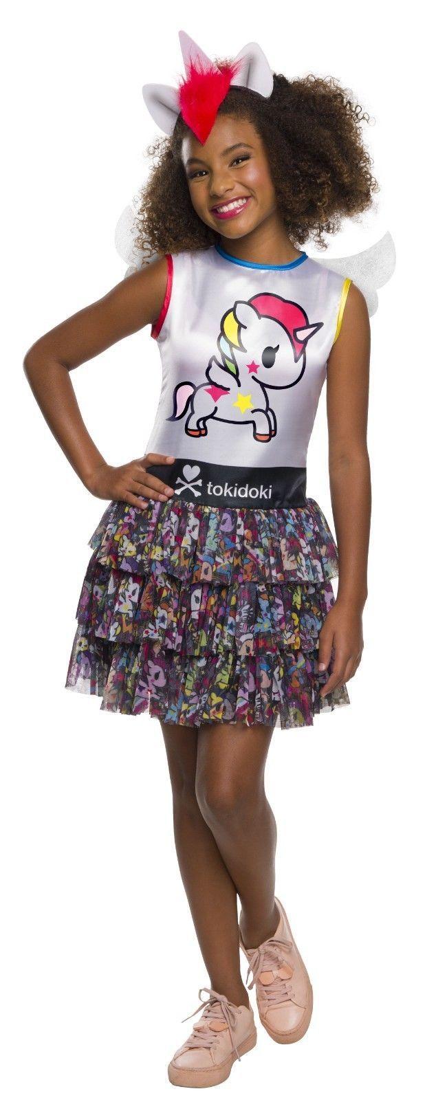 Rubies Tokidoki Stellina Einhorn Kleid Kawaii Kinder Halloween Kostüm 641186