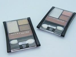 Maybelline Expert Wear Eyeshadow 4 color palette quads Buy 1 Get 1 Free ... - $14.99