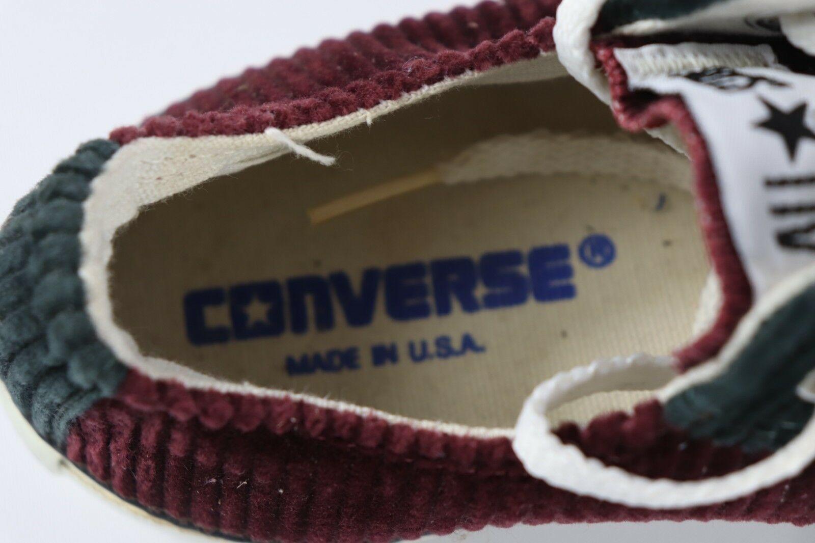 Vintage Neuf Homme Converse 5.5 Femmes 7.5 Chuck Taylor Côtelé Chaussures