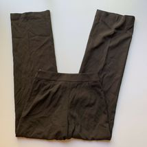 Giorgio Armani Women's Size 40 / Small Brown 100% Wool Dress Pant Trousers Italy image 8