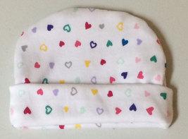 Preemie and Newborn Hearts Hat 5 Sizes NICU - $10.00