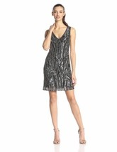 Adrianna Papell Beaded Cocktail Dress SZ. 12P - $144.00