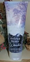 Bath & Body Winterberry Wonder Ultra Shea Body Cream 8 fl oz - New - $14.85
