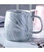 Marble Coffee Mug Creative Porcelain Mug Gold Edge Tea Milk Cup Coffee M... - $22.00