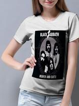 Black Sabbath Cool Band Forever T Shirt Women White - $15.90+
