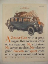 1925 That New WILLYS KNIGHT Car Willys Overland FLAPPERS Print Ad - $9.99
