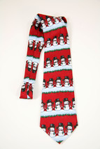 Frosty the Snowman Novelty Neck Yule Tie Greetings Hallmark Christmas Ho... - $24.70