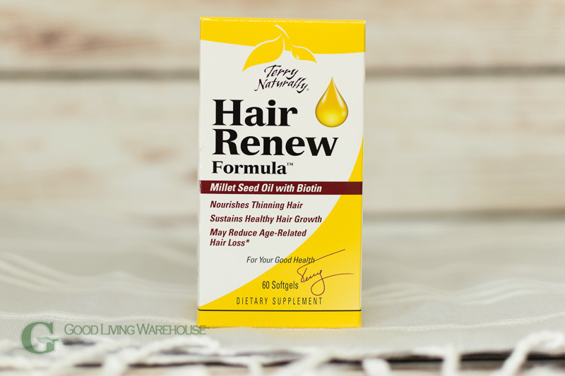 EuroPharma/Terry Naturally - Hair Renew Formula - 60 Softgels