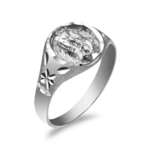 Sterling Silver Pisces Ladies Zodiac Sign Ring - £17.92 GBP