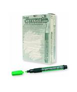 Pentel SMW26 Wet Erase Chisel Point Chalk Marker (12pcs) - Green - $35.99